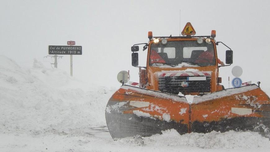 La neige s'invite dans la région !