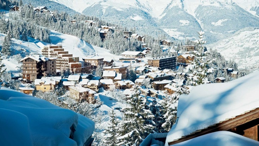 Un avant-goût de la saison de ski à Courchevel