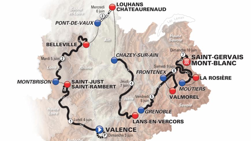 Le final du Dauphiné se jouera à Saint-Gervais