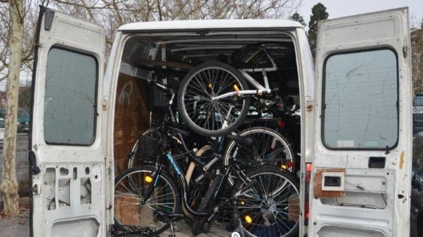 4 voleurs de vélos interpellés à Annecy