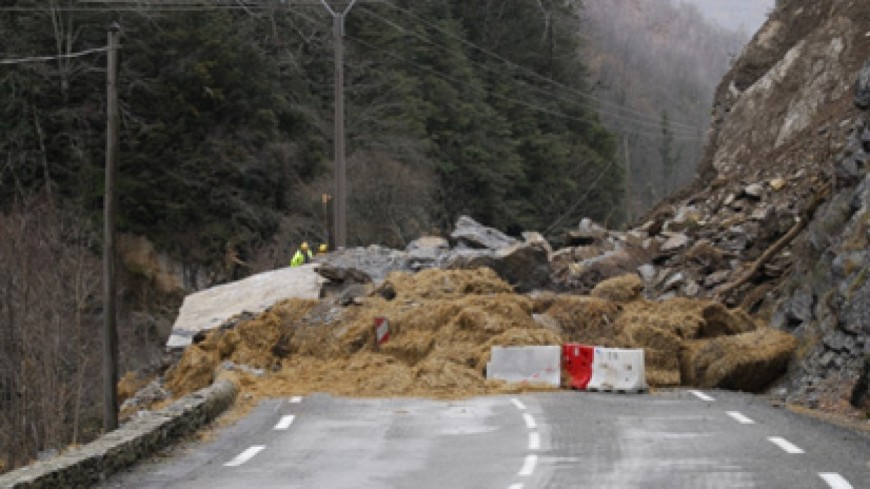 La route des gorges de l'Arly a pu rouvrir