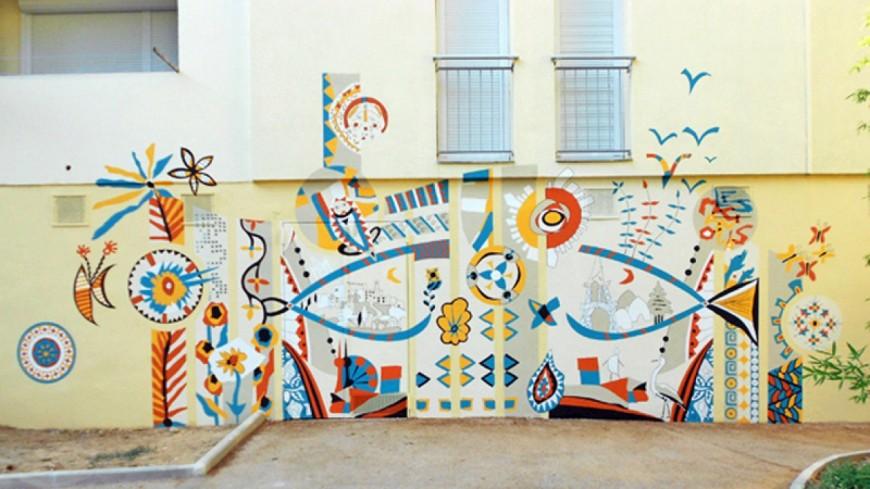 Binetôt des fresques sur les murs de Moûtiers !