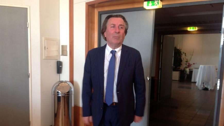 Guy Metral devrait rester président de la CCI 74