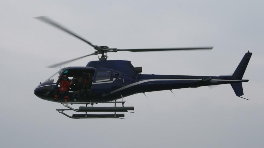 Des hélicoptères au-dessus de Faverges