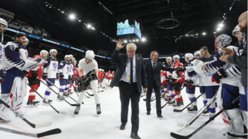 Hockey : la Suisse bat la France et file en quart