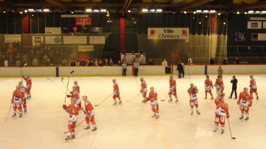Hockey : victoire d'Annecy, défaites pour les autres