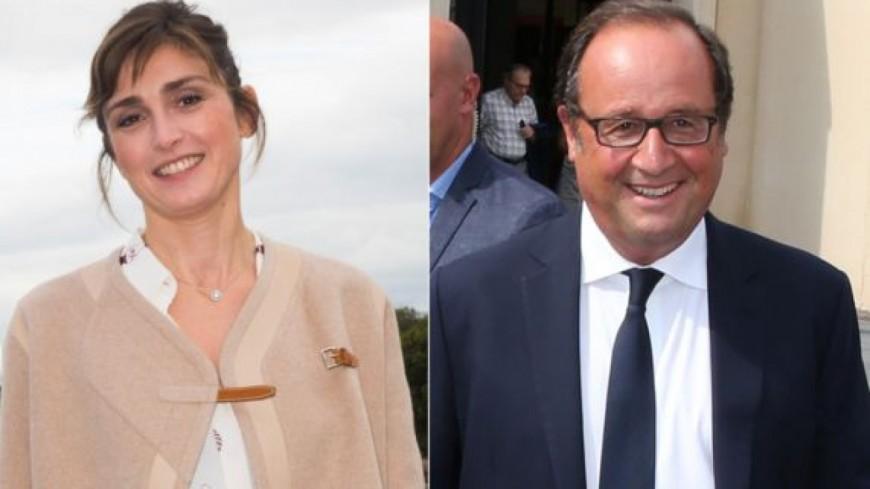 Julie Gayet et François Hollande en week-end en amoureux dans la Manche