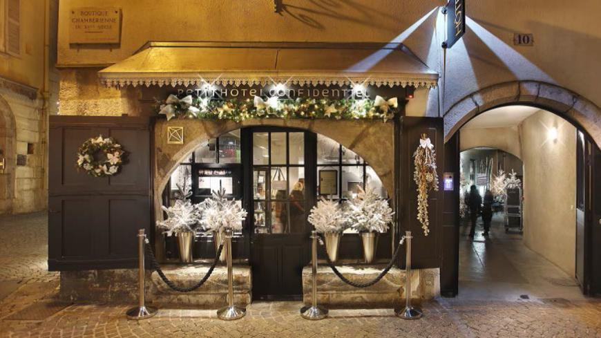 Le meilleur hôtel 5 étoiles de France est chambérien