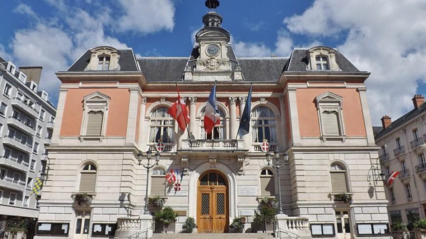 Les éboueurs de Chambéry en grève