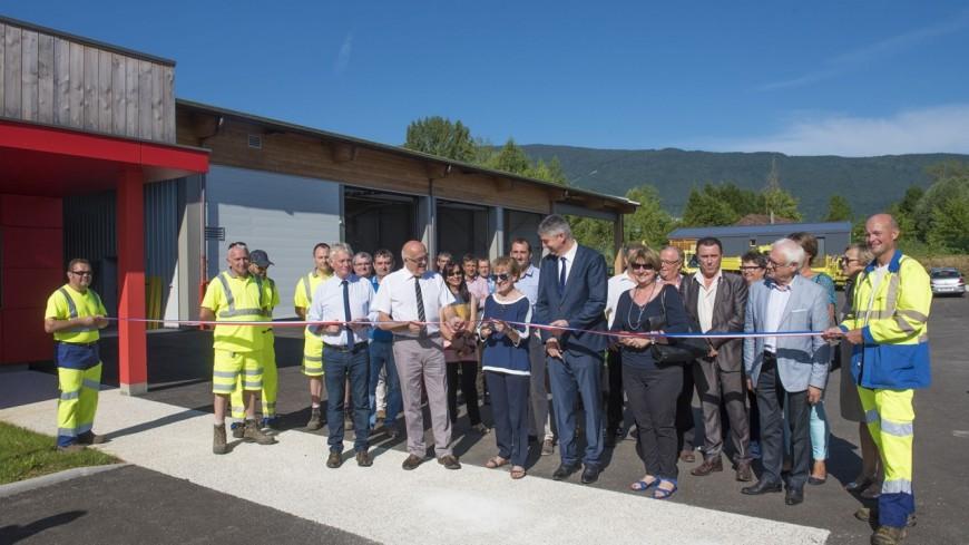 Un nouveau centre d'exploitation des routes