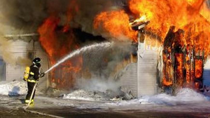 Une remise à bois prend feu à Annecy-le-Vieux