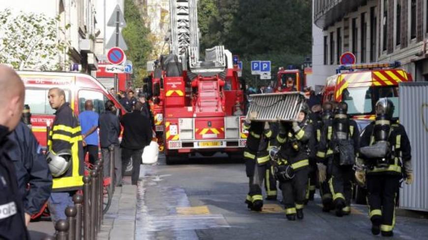 Virginie Duby-Muller au chevet des pompiers