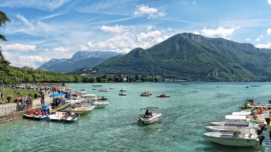 Lac d'Annecy : 20 cm d'eau en moins !
