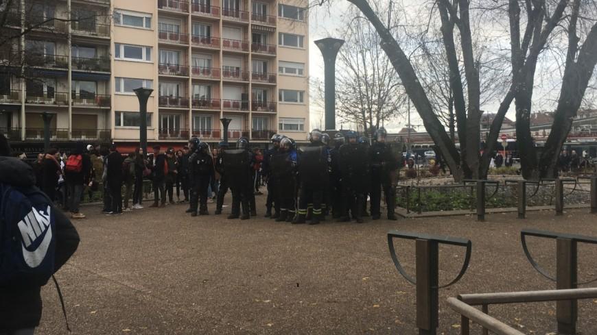 18 interpellations après la manifestation à Annecy