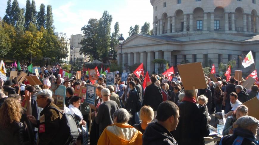 Nouvelle journée de manifestations