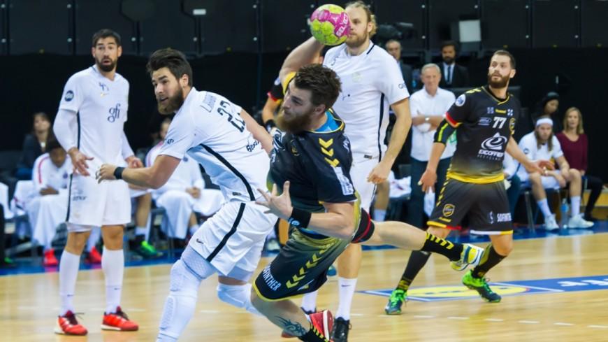 Du Handball avec Chambéry face à Nimes
