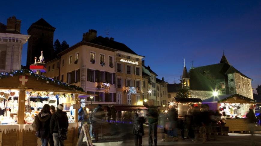 C'est parti pour le Noël des Alpes à Annecy