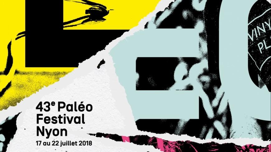 Une affiche qui déchire pour Paléo 2018