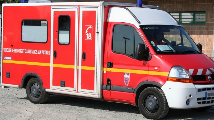 Un motard blessé dans un accident à Chambéry