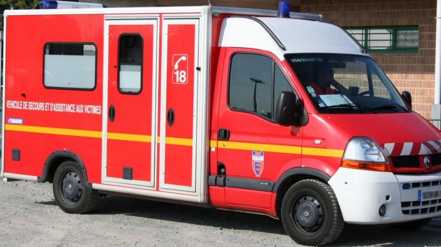 Un grave accident de la route à Grésy-sur-Aix