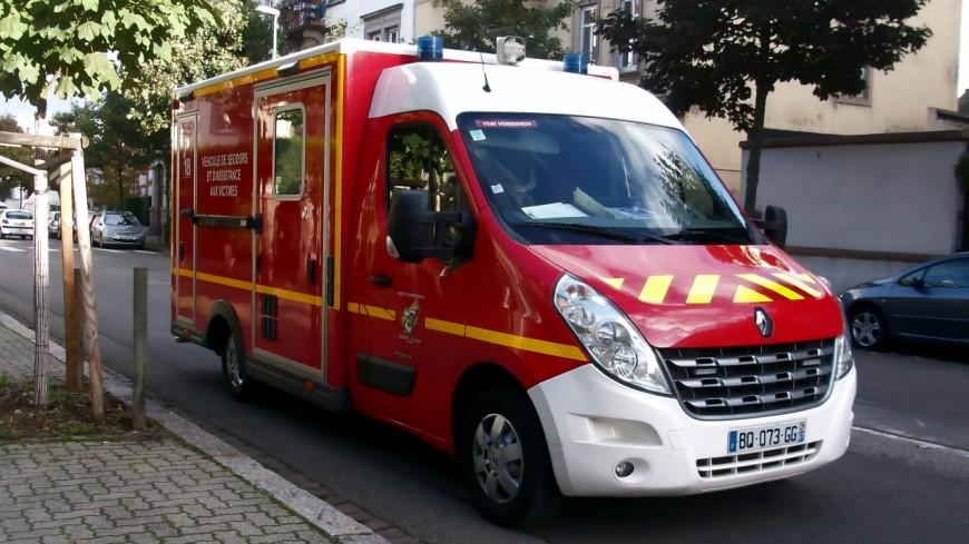 Grave accident en gare de Chindrieux