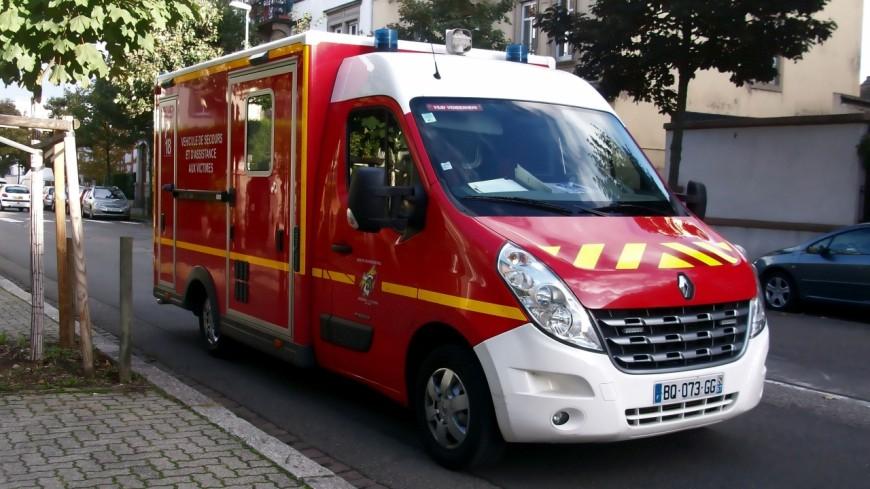 Grave accident à Chazey-Bons dans l'Ain