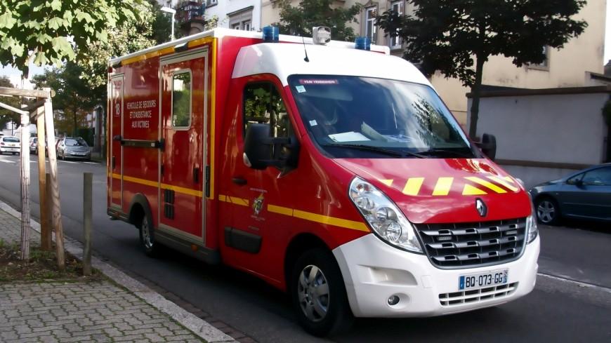 Un accident de la route à Thônes ce mercredi