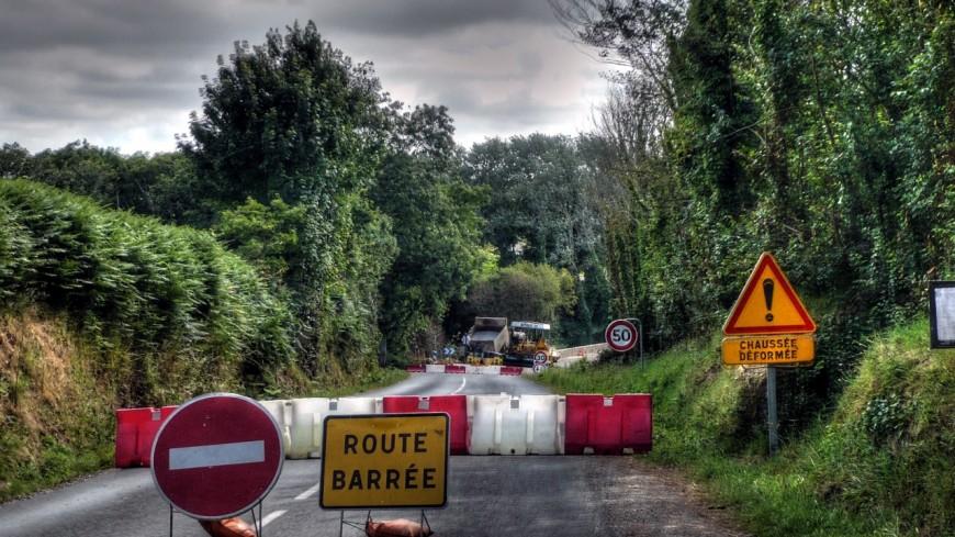 La RD 120 fermée jusqu'à lundi à Culoz