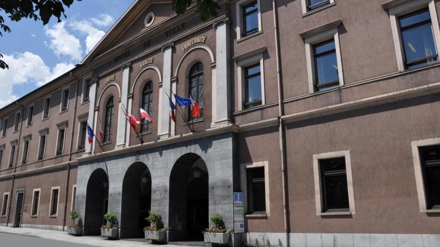 L'hôtel de ville de Sallanches en travaux