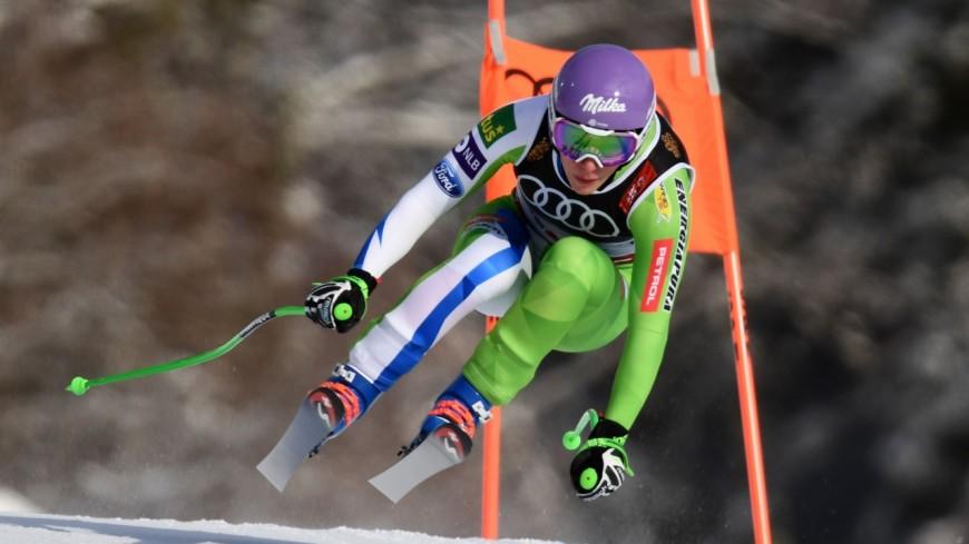 Ski : Stuhec championne du monde de descente