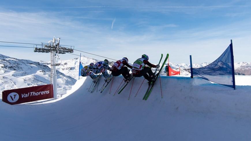 La CDM de skicross avancée à Val Thorens