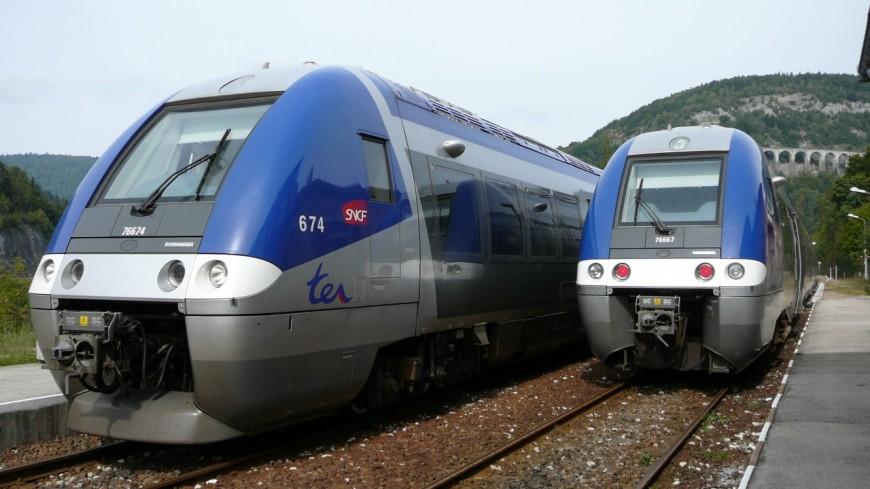La circulation des trains perturbés en Maurienne