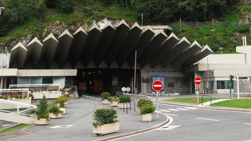 Fermeture du tunnel du Mont-Blanc