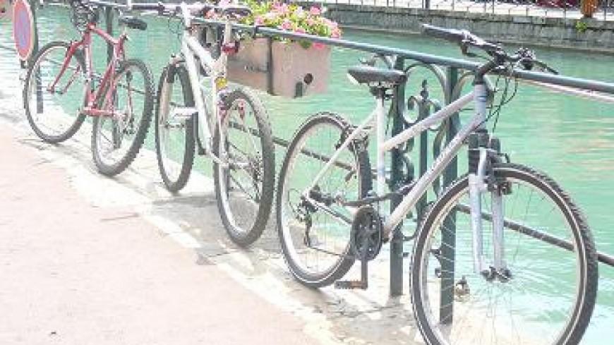 Pris en flagrant délit de vol de vélos à Annecy