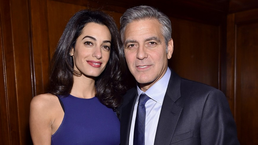 Amal et George Clooney attendent des jumeaux!