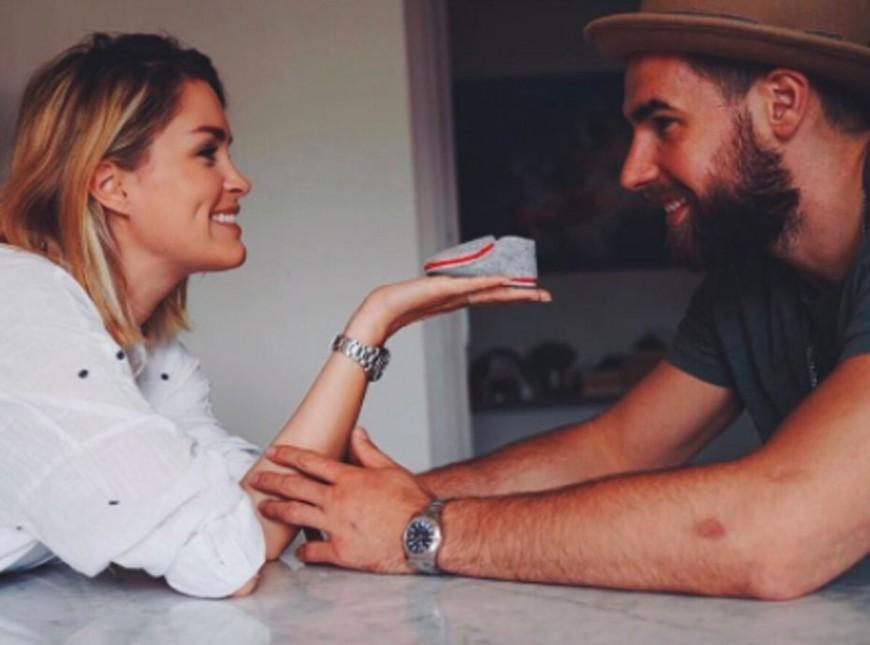 Luka Karabatic et Jeny Priez accueille leur premier enfant