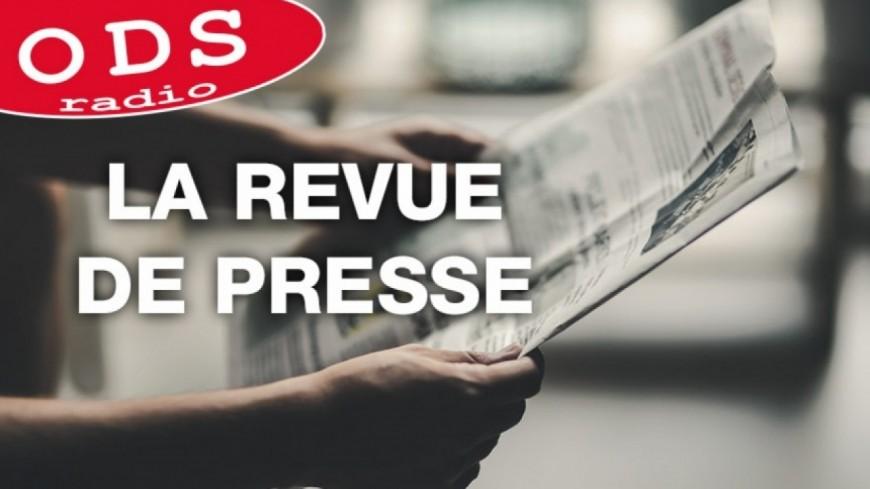 10.01.19 La revue de presse par M. Bienvenot