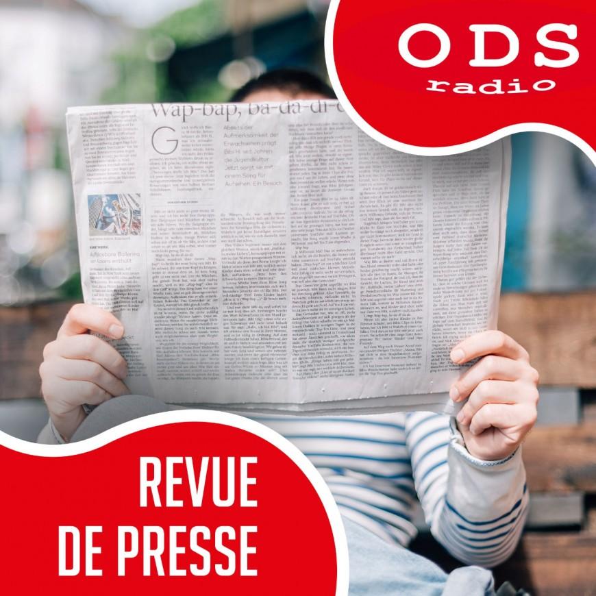 22.09.20 La Revue de presse par E. Lallier