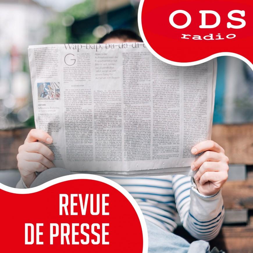 22.07.21 La Revue de Presse - E. Lallier