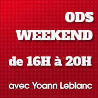 ODS radio week-end 16h/20h