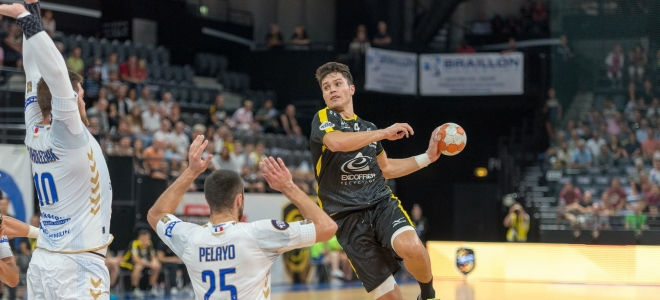 Chambéry s'impose face à Dunkerque