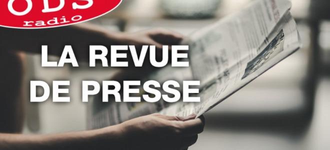 La revue de presse de ce vendredi avec Marion Bienvenot