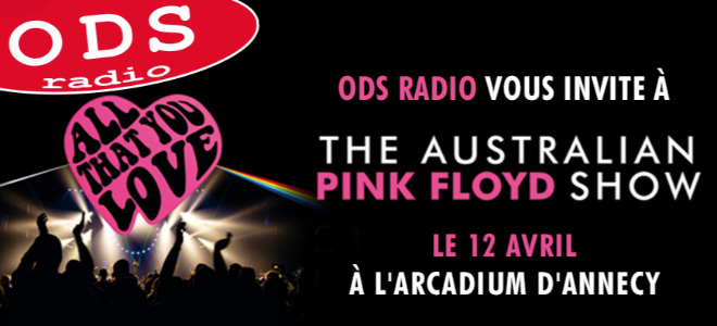The Australian Pink Floyd en concert à Annecy !