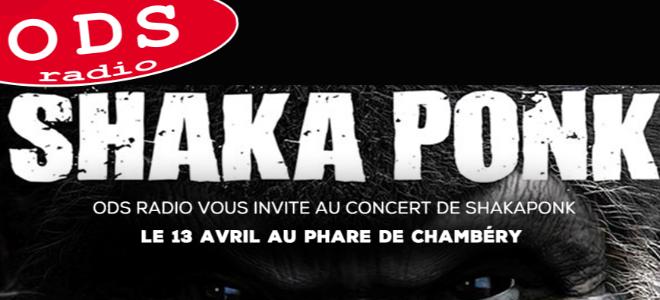 Shaka Ponk le 13 avril au Phare de Chambéry !