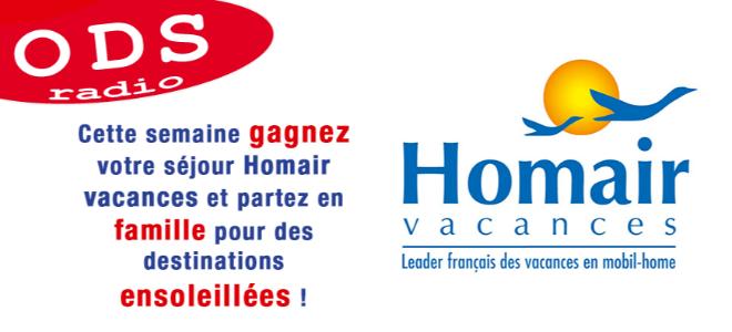 Votre séjour Homair Vacances à gagner !