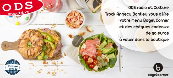 Gagnez votre menu Baggel Corner avec Culture Trock