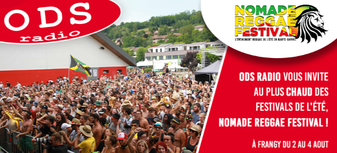 ODS radio vous invite au Nomade Regäe festival !