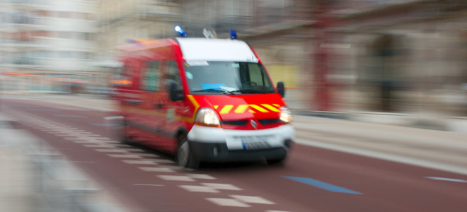 Un motard gravement blessé en Haute-Savoie