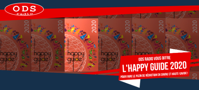 ODS Radio vous offre l'happy guide 2020 !