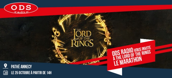 Lord Of The Rings au Pathé Annecy !